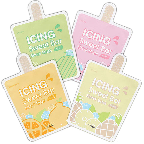 Icing Sweet Bar Sheet Mask - 1pc (4 Types)