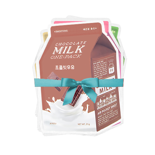 Milk One-Pack Bundle (Inc. 5 Masks)