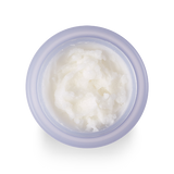 top view of the texture of the BANILA CO Clean it zero purifying cleansing balm