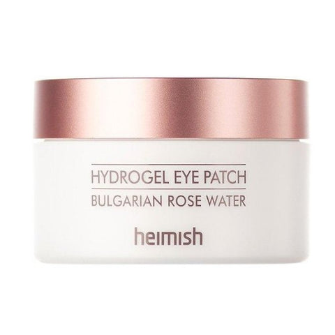front view of the HEIMISH Bulgarian roe water hydrogel eye patch box