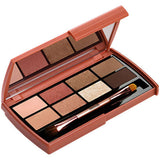 An open HEIMISH Dailism eye palette brick brown with 8 shades