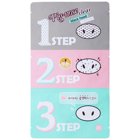 HOLIKA HOLIKA pig nose clear blackhead 3-step kit front view