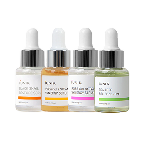 iUNIK Mini Serum Set - (4 x 15ml)