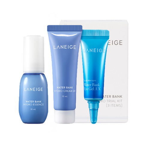 LANEIGE Water Bank Hydro Kit (Inc. 3 Items)