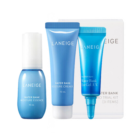 LANEIGE Water Bank Moisture Kit (Inc. 3 Items)