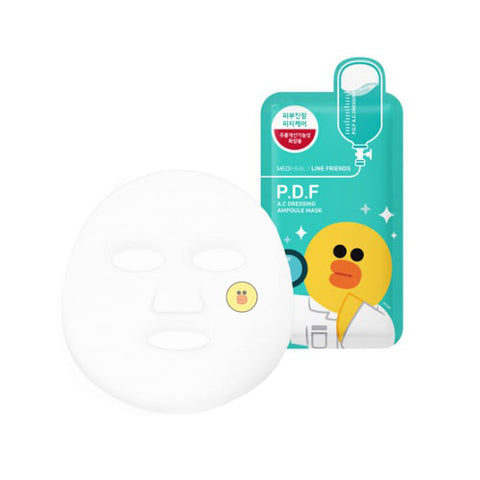P.D.F.A.C Dressing Ampoule Mask - 1pc (Line Friends Edition)