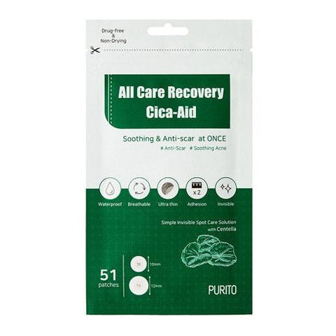 All Care Recovery Cica-Aid (51 Patches)