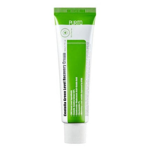 PURITO Centella Green Level Recovery Cream tube front view