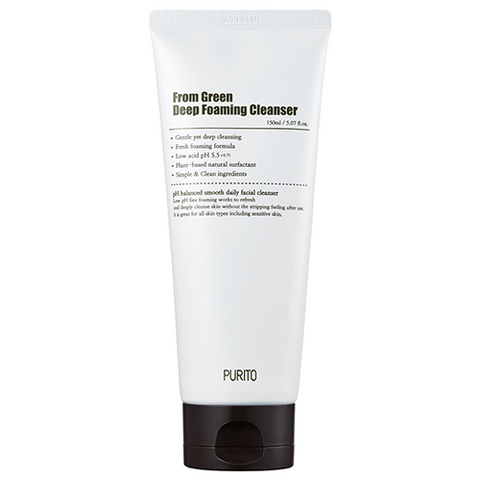 From Green Deep Foaming Cleanser (150ml)