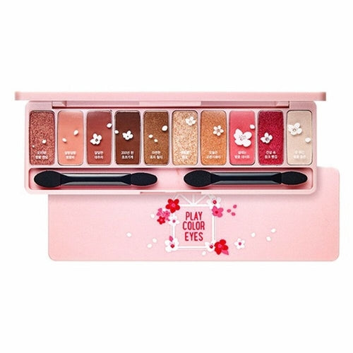 Play Colour Eyes - Cherry Blossom Edition - 10 Shadow Palette (10g)