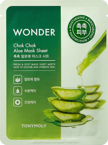 Wonder Chok Chok Aloe Mask Sheet - 1 pc