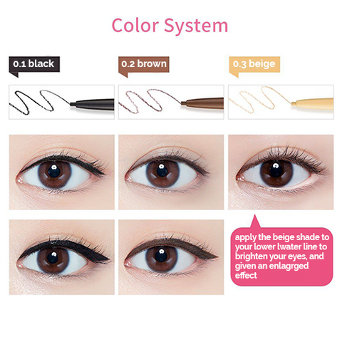 Super Slim Proof Pencil Liner - 3 Colours