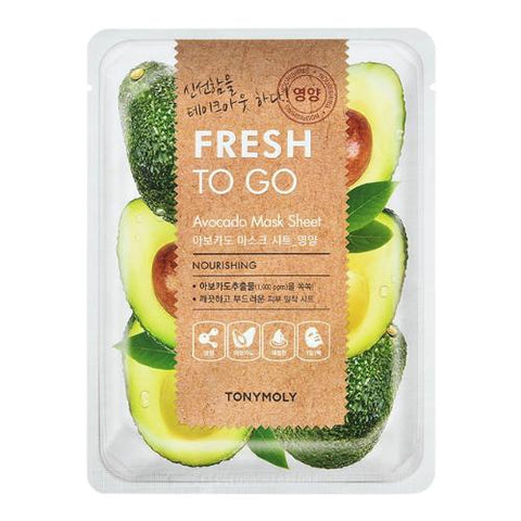Fresh To Go Mask Sheet 1pc - 10 Types