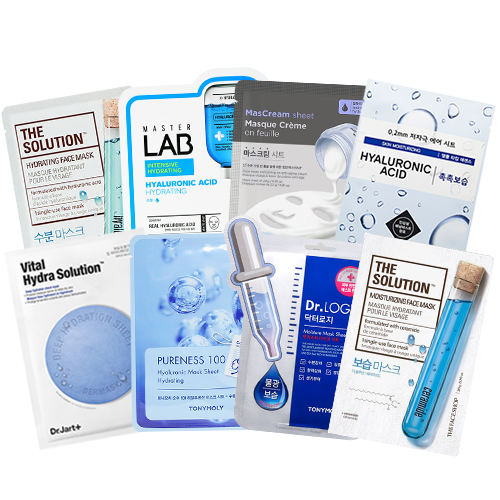 Moisturising Mix Mask SET (Inc. 8 Masks)