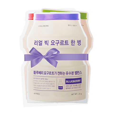 Real Big Yogurt One-Bottle PACK (Inc. 5 Masks)