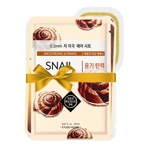 Snail Mucin Mask SET (Inc. 5 Masks)