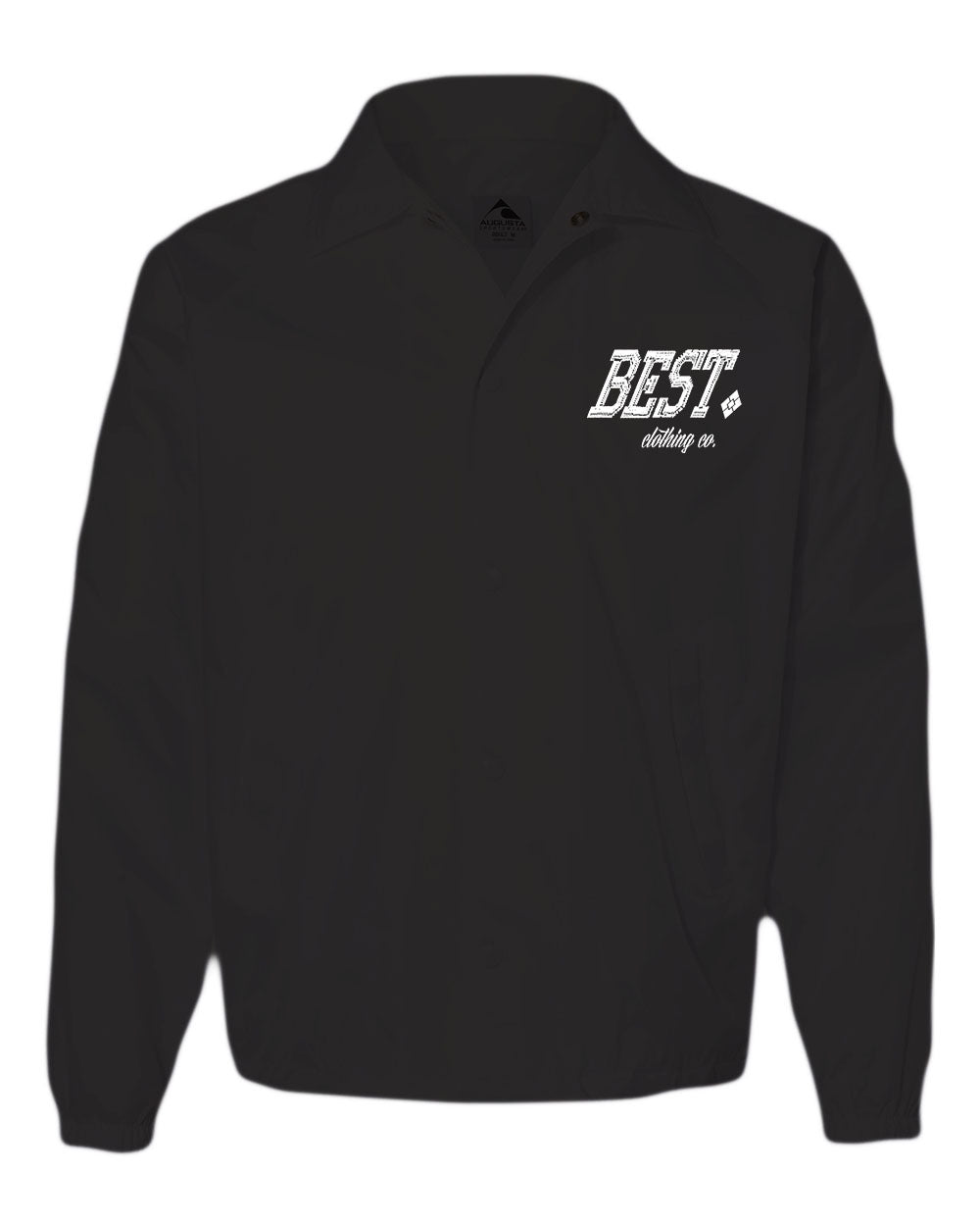 BCC Black Windbreaker Jacket