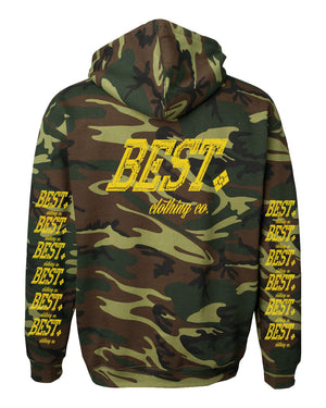 BCC Statement Hoodie Army Camo