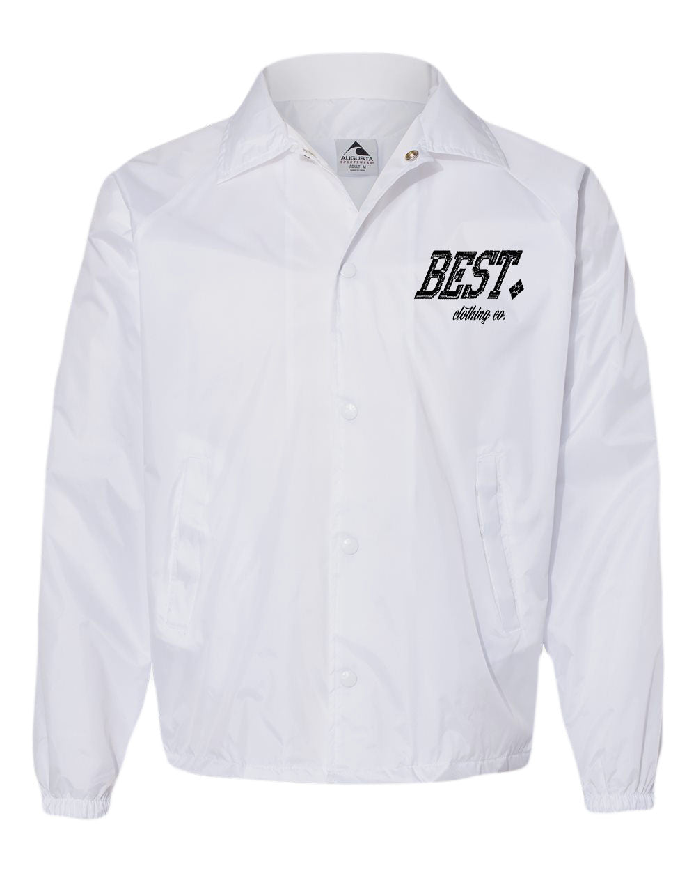 BCC White Windbreaker