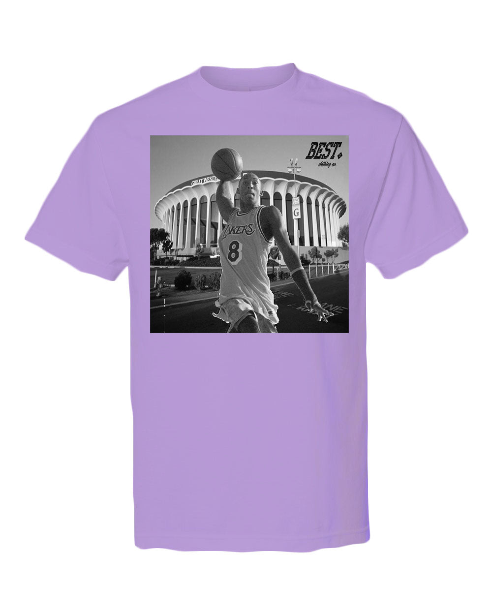 Kobe Forum Purple Tee : Kobe Legacy Collection