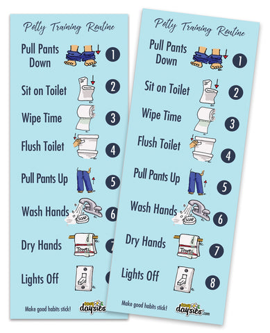 ReStickable Potty Training Routine 2-Pack
