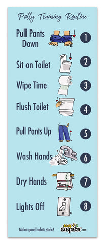 ReStickable Potty Training Routine