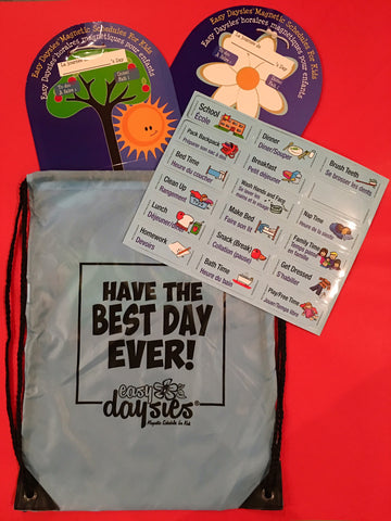 Have the Best Day Ever - Ready to Gift Set! Visual Routines for Families