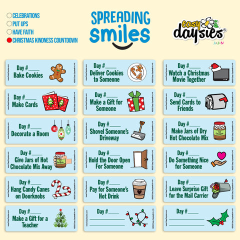 Spreading Smiles - Christmas Kindness Countdown
