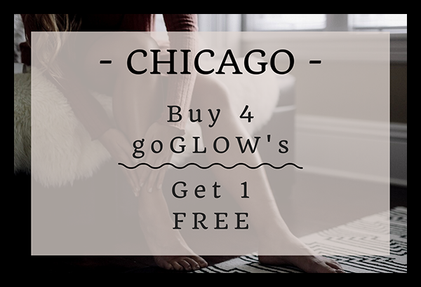 Buy Four goGLOW's, Get One Free - RIVER NORTH - CHICAGO