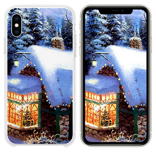 2016 Christmas Images iPhone XS case