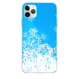 Abstract Christmas Snowflake Pattern Background iPhone 11 Pro Max case