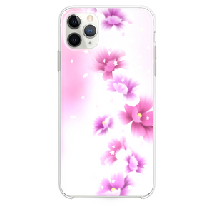 Abstract Pink Blossom Bouquet iPhone 11 Pro Max case