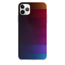 Load image into Gallery viewer, Abstract Rainbow Stripe iPhone 11 Pro Max case