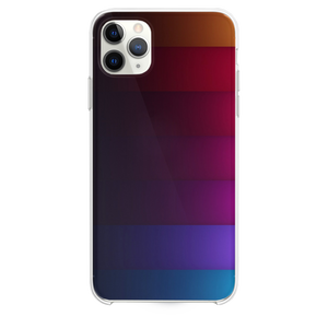 Abstract Rainbow Stripe iPhone 11 Pro Max case