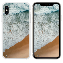 Load image into Gallery viewer, aerial photography of rampaging sea during daytime iPhone XS case