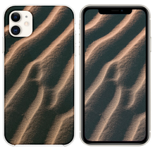 Load image into Gallery viewer, aerial view photography of sand iPhone 11 case