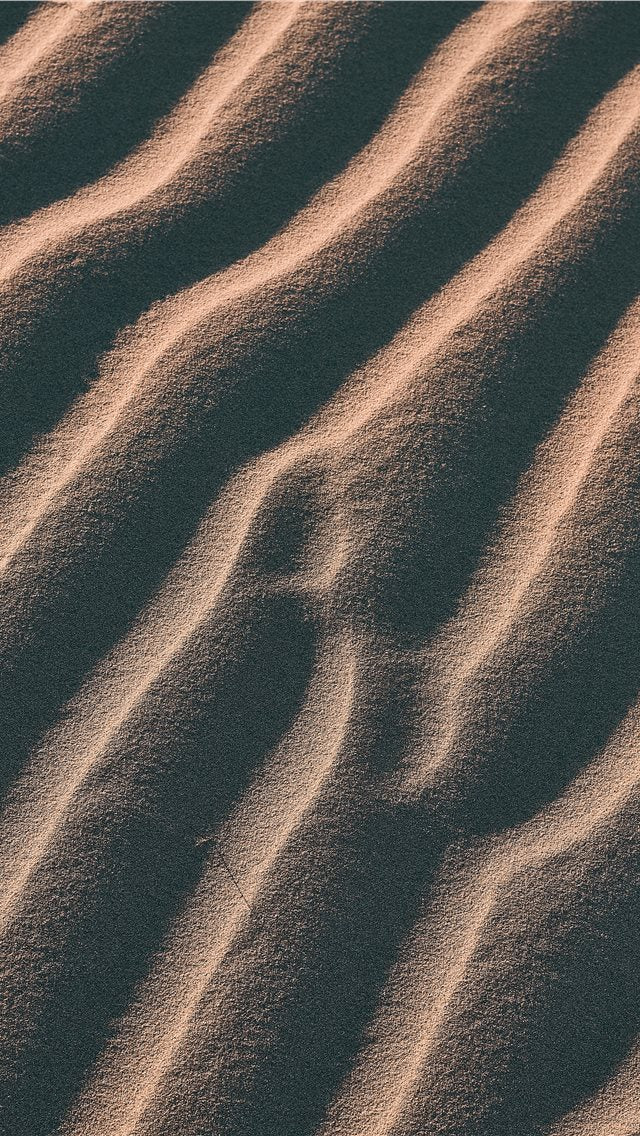 Aerial View Photography Of Sand iPhone XS Wallpaper
