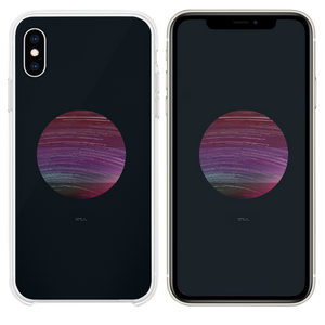 Art star minimal simple poster dark iPhone XS case