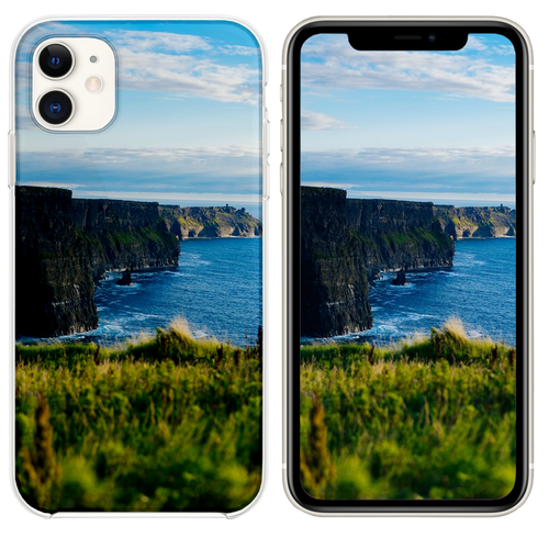 body of water under blue sky iPhone 11 case