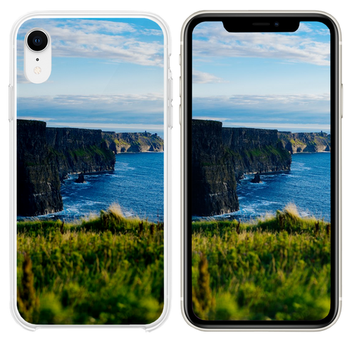 body of water under blue sky iPhone XR case