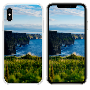 body of water under blue sky iPhone XS case