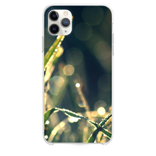 Load image into Gallery viewer, Bokeh Green Grass Drops iPhone 11 Pro Max case