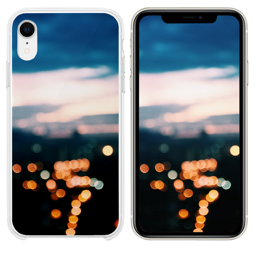 bokeh photography iPhone XR case