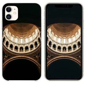 brown dome building interior iPhone 11 case