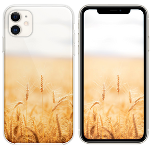 brown grasses iPhone 11 case