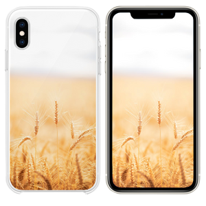 brown grasses iPhone XS case