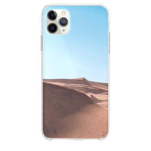 brown sand under white cloudy sky iPhone 11 Pro Max case