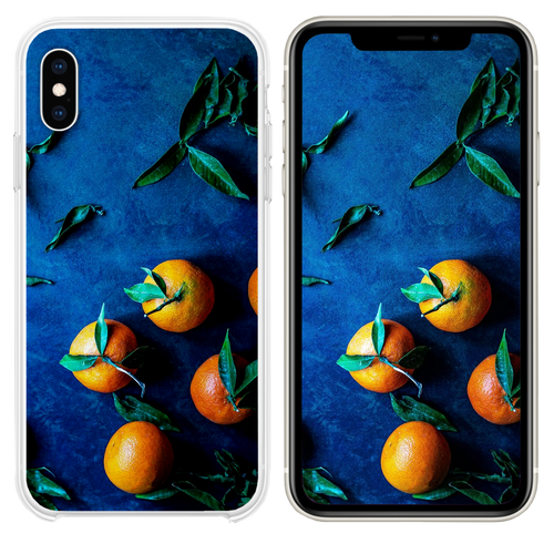 bunch of orange fruit iPhone XS case