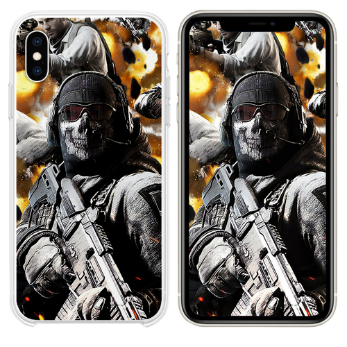 call of duty mobile 4k iPhone XS case
