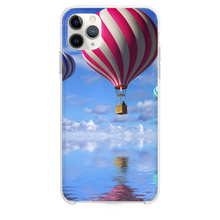 Load image into Gallery viewer, Candy Cane Colored Air Balloons iPhone 11 Pro Max case